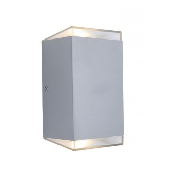 Lutec PATH Wall Light LED stainless steel, 1-light source