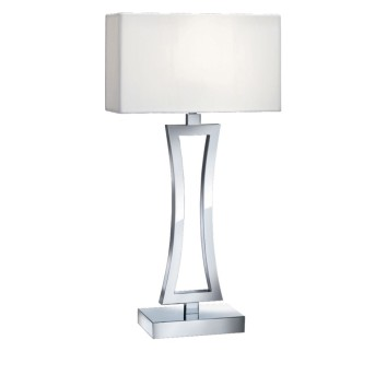 Table Lamp Searchlight CUSION chrome, 1-light source