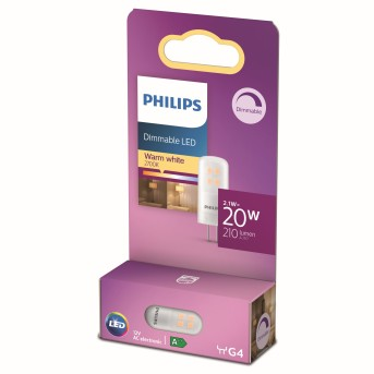 Philips LED G4 2 Watt 2700 Kelvin 200 Lumen
