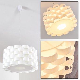 PETALAX Pendant Light beech, 1-light source