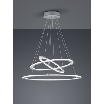 Trio DURBAN Pendant Light LED matt nickel, 1-light source