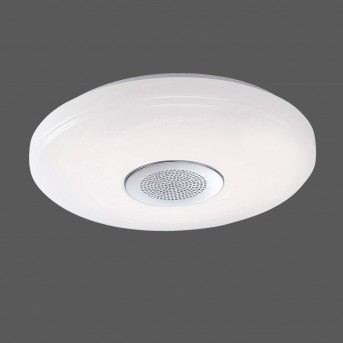 Leuchten-Direkt PELVO ceiling light LED white, 1-light source, Remote control, Colour changer