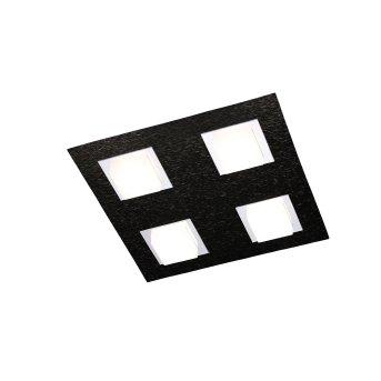 Grossmann BASIC Ceiling Light LED black, 4-light sources