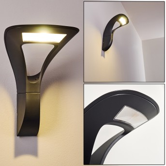 Outdoor Wall Light Gomez LED anthracite, 1-light source