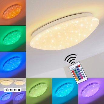 NORTON STAR Ceiling light LED white, 1-light source, Remote control, Colour changer