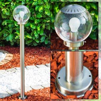 CORDOVA Path Light stainless steel, 1-light source