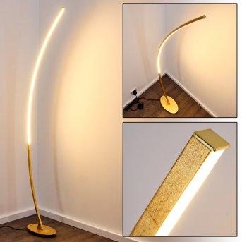 NAGU Floor Lamp LED gold, 1-light source