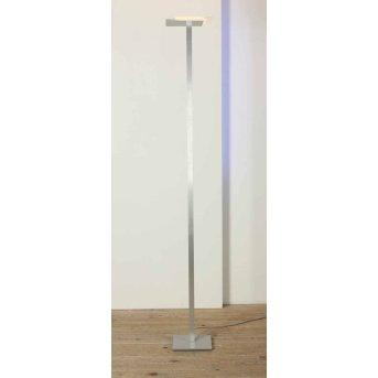 Bopp Flat uplighter LED aluminium, 7-light sources