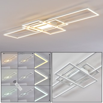 Alsterbro Ceiling Light LED white, 1-light source, Remote control