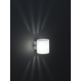 Wofi AQABA Wall Light matt nickel, 1-light source