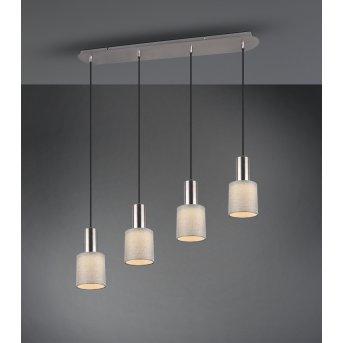 Trio WAILER Pendant Light LED matt nickel, 4-light sources