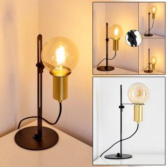 KIREHITO Table Lamp brass, black, gold, 1-light source