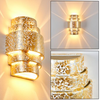 HANDAN Wall Light gold, 1-light source