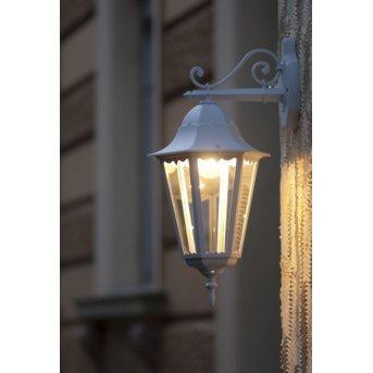 Lutec BRISTOL outdoor wall light white, 1-light source