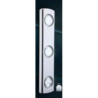 Globo SPOOKY under cabinet light LED silver, 3-light sources
