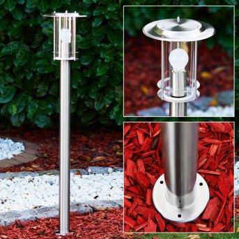 MULO path light stainless steel, 1-light source