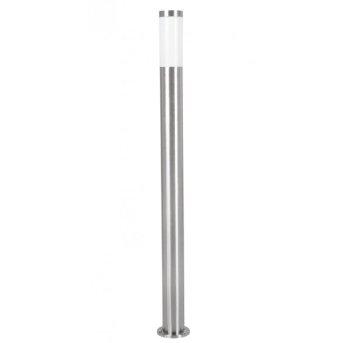 Eglo HELSINKI outdoor floor lamp stainless steel, 1-light source