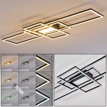 Alsterbro Ceiling Light LED black, 1-light source