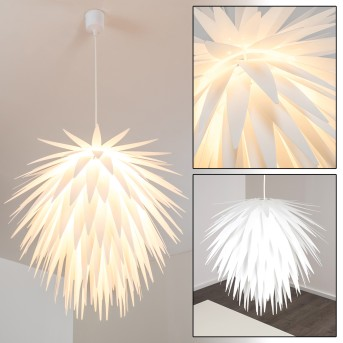 GRINDER pendant light white, 1-light source