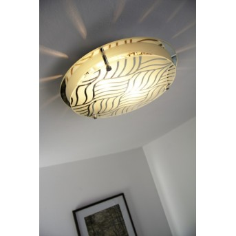 Globo MARIE ceiling light chrome, 2-light sources
