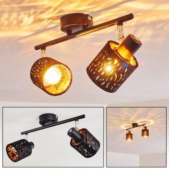 Liared Ceiling light black, 2-light sources