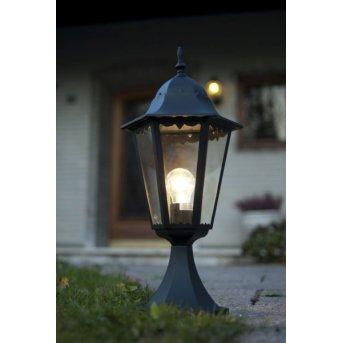 Lutec BRISTOL pedestal light black, 1-light source