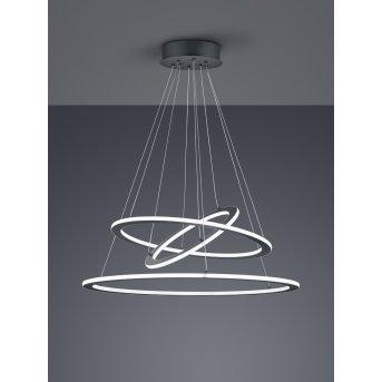 Trio DURBAN Pendant Light LED anthracite, 1-light source