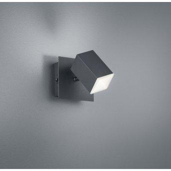 Trio LAGOS Wall Light LED black, 1-light source