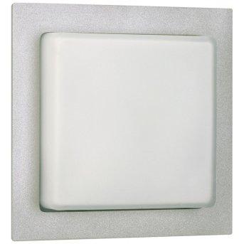 Albert 6219 house number light silver, 1-light source