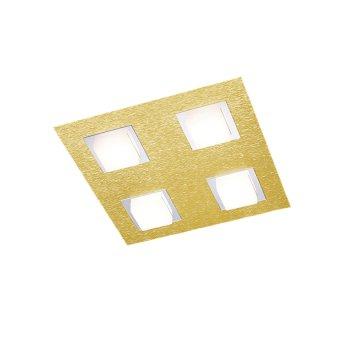Grossmann BASIC Ceiling Light LED brass, 4-light sources
