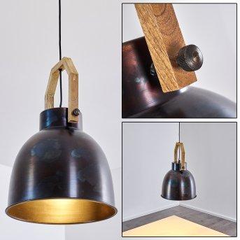 SVANFOLK Pendant Light brushed steel, 1-light source