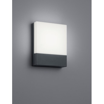 Trio PECOS Outdoor Wall Light LED anthracite, 1-light source