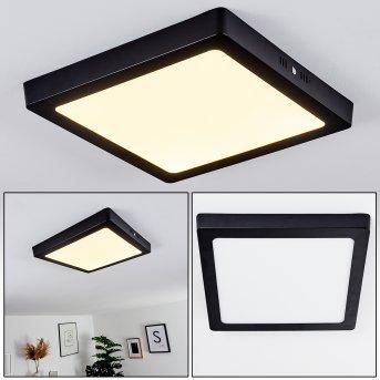 KRAGOS Ceiling Light black, 1-light source