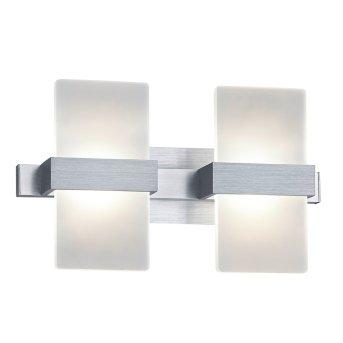 Trio Platon wall light LED aluminium, 2-light sources