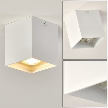 Ceiling Light Curacao white, 1-light source