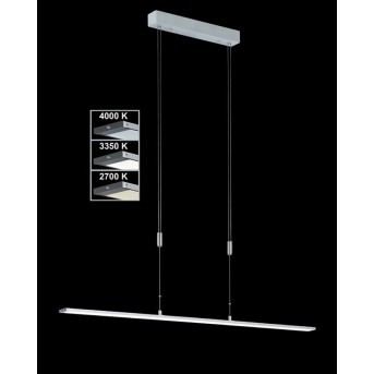 Honsel SHINE pendant light LED aluminium, 1-light source