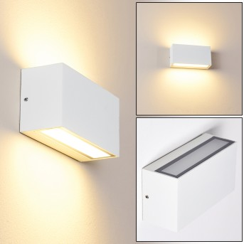 DULUTH Outdoor Wall Light LED white, 1-light source