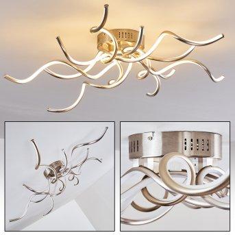 SCUGOG Ceiling light LED matt nickel, 1-light source