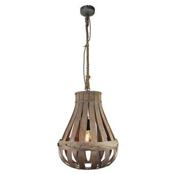 Brilliant KAMINIKA Pendant Light brown, 1-light source