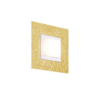 Grossmann BASIC Wall and Ceiling Light LED brass, 1-light source