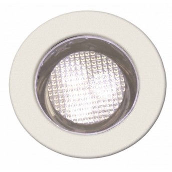 Brilliant COSA 30 Recessed Light set LED stainless steel, 10-light sources