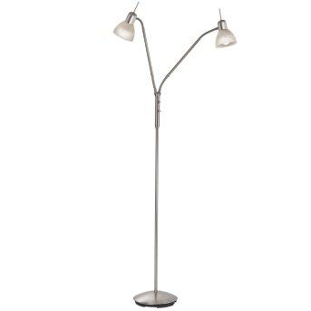 Nino Leuchten DAYTONA Floor Lamp LED matt nickel, 2-light sources