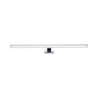 Mirror light Leuchten Direkt MATTIS LED chrome, 1-light source