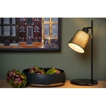 Table Lamp Lucide PIPPA black, 1-light source