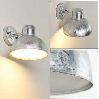 FEZZOU Outdoor Wall Light galvanized, 1-light source