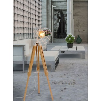 Lucide JOSHUA Floor Lamp white, 1-light source