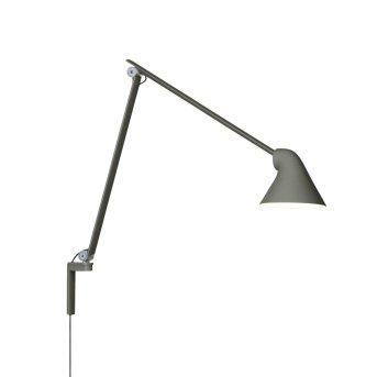 Louis Poulsen NJP Wall Light LED grey, 1-light source