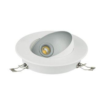 Eglo RONZANO recessed light LED silver, white, 1-light source