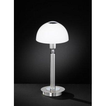 Wofi AMBER Table Lamp matt nickel, 1-light source