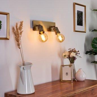 LAGUNITA Wall Light antique brass, 2-light sources